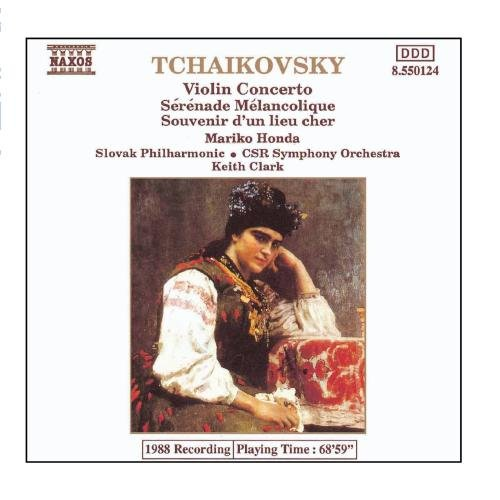 Price comparison product image Tchaikovsky: Violin Concerto In D Major / Serenade Melancolique / Souvenir D'Un Lieu Cher
