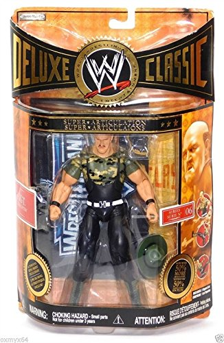 WWE DELUXE CLASSIC *SUPERSTARS* SE.#6 (EXCLUSIVE)SGT.ALAUGHTER