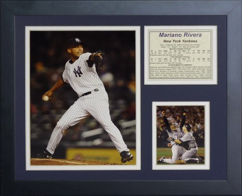 Legends Never Die Mariano Rivera Framed Photo Collage, 11x14-Inch ()