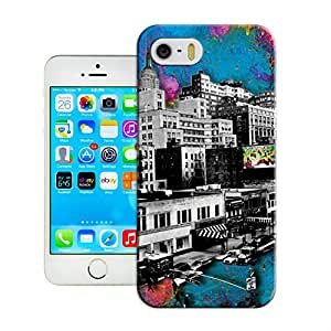 LarryToliver Charming Simple Customizable Now the city pattern iphone 5/5s Case Cover