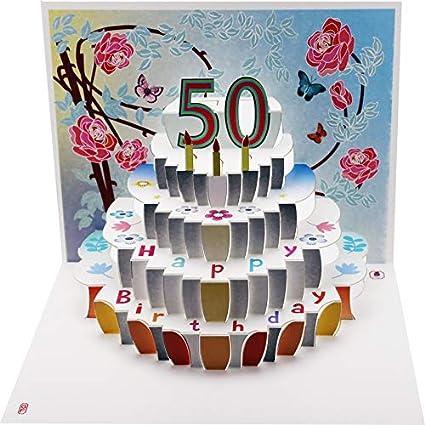 Forever Cards POP150 - Tarjeta de felicitación de 50 ...