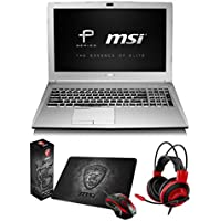 MSI PL60 7RD-013 (i7-7500U, 16GB RAM, 1TB HDD, NVIDIA GTX 1050 2GB, 15.6 Full HD, Windows 10) Professional Laptop