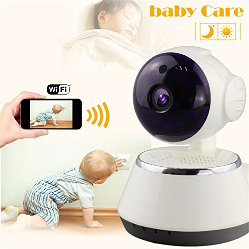 Net Video (Wireless Baby Monitor, M.Way Video Baby Wifi Monitor HD 720P Remote Home Security Network CCTV IP Camera Night Vision WIFI Webcam)