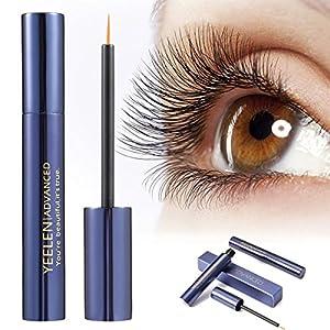 Yeelen Eyelash Eyebrow Growth Serum Grows Longer, Fuller, Thicker Lashes & Brows in 45 days! Enhancer Eyelash Conditioner Non-prescription Eyelash Serum 5ml