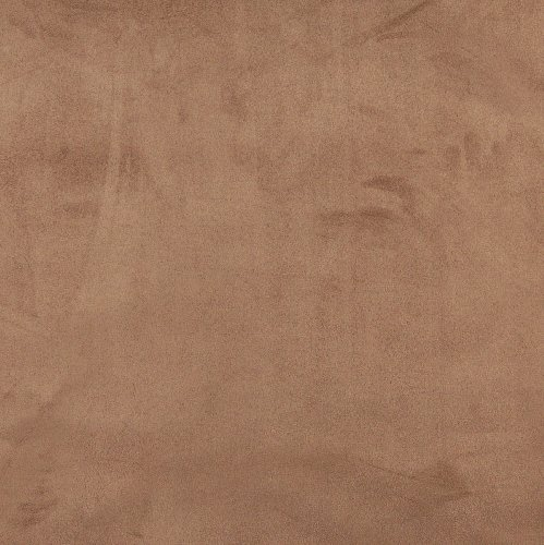 Mocha Brown Premium Soft Microfiber Suede Upholstery Fabric by the yard (Brown Microfiber Fabric)