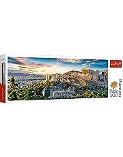 Trefl TR29503 Akropolis, Athen 500 Teile, Panorama, Premium Quality, für Erwachsene und Kinder ab 10 Jahren Puzzle, Coloured