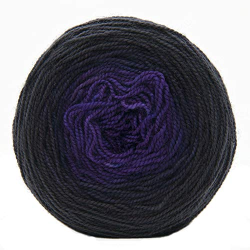 - Kim Dyes Yarn Hand-Dyed Gradient Yarn (Challah Fingering, Smoky Mountains)