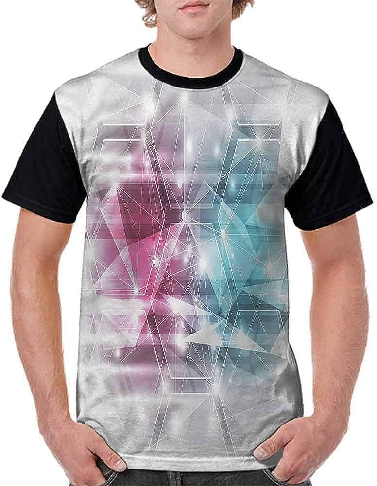 BlountDecor Trend t-Shirt,Heart Like Leaves Swirls Fashion Personality Customization