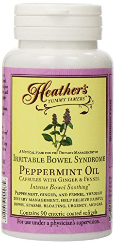 Heather Bread - Heather's Tummy Tamers-Peppermint Oil Capsules, 180ct (2 Pack)