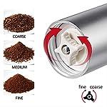 SFBBAO-Macina-Caffe-Manuale-Coffee-Grinder-Regolabile-in-Ceramica-Whetstone-Grinder-per-Home-Office-Travel-Coffee-Grinder-1045-cm-S-in-VI