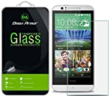 HTC Desire 510 Glass Screen Protector, Dmax Armor [Tempered Glass] 0.3mm 9H Hardness, Anti-Scratch, Anti-Fingerprint, Bubble Free, Ultra-clear
