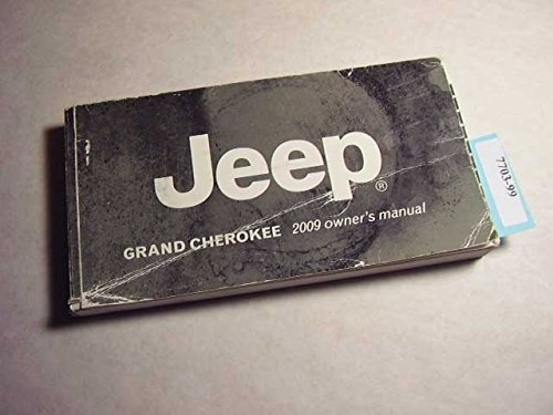 2009 Jeep Grand Cherokee SRT8 Owners Manual Guide Portfolio Pkg ()