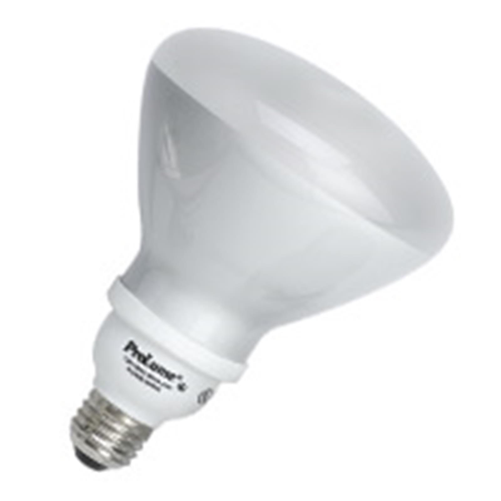 12 Qty. Halco 23W Spiral R40 3000K Med ProLume CFL23/30/R40 23w 120v CFL Soft White Flood Lamp Bulb