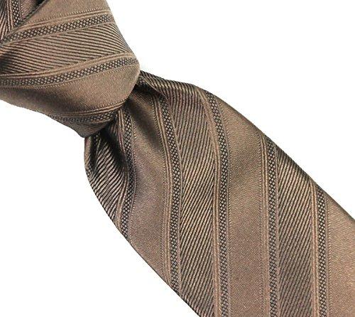 Coffee woven SOLID SO pure neckties silk SKINNY 100 Tqg8Rw07