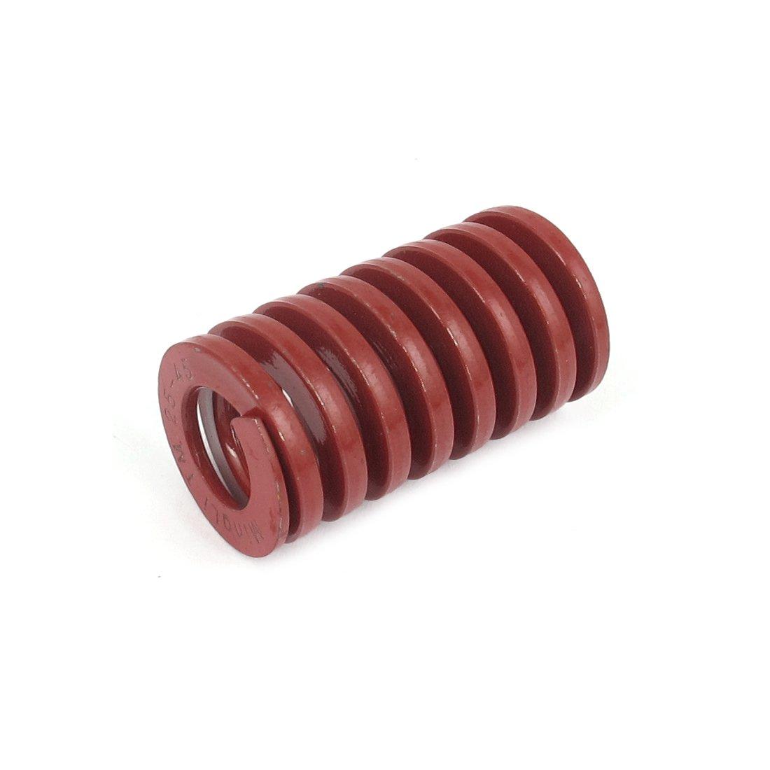 uxcell a15102700ux0552 25 mmx45 mm chrom Legierung Stahl mittel Laden sterben Spring rot, Nylon