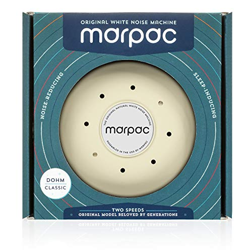 Marpac Dohm Classic White Noise Sound Machine with Soothing Sounds from A Real Fan. Helps Cancel Noise While You Sleep and Perfect for Adults and Children (Tan, Dohm) by Marpac (Image #4)