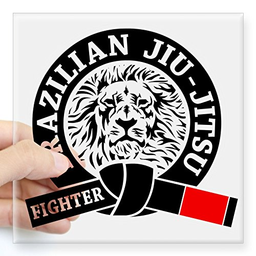 CafePress Brazilian Fighter Sticker Square