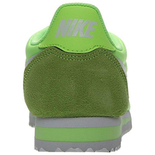 Nike Wmns Classic Cortez Nylon, Zapatillas de Deporte Para Mujer Verde (Ghost Green / White)