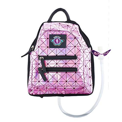 Dan-Pak Mini Hydration Pack- Holographic Pink- 1 Liter