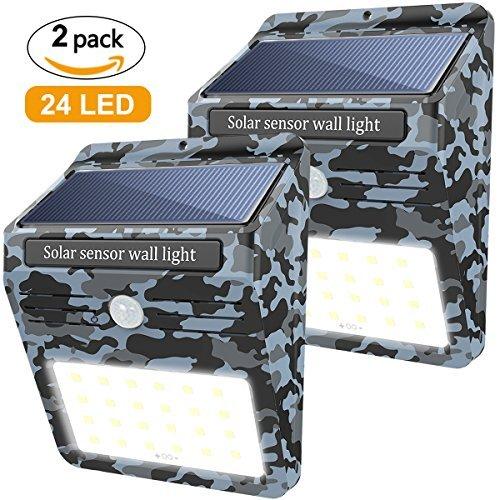 Soft Digits 24 LED Solar Light