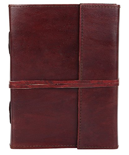 Leather Journals To Write In - Vintage Travel Journal - College Planner By Rustic Town