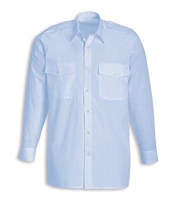 Alexandra stc-sg1pb-21 camisa de piloto para hombre, Plain, 65% poliéster/35% algodón, tamaño: 21, color azul claro: Amazon.es: Industria, empresas y ciencia