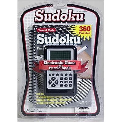 Électronique portable Sudoku puzzle livre Solution