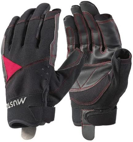 Musto Long Finger Performance Sailing Glove Black AS0821