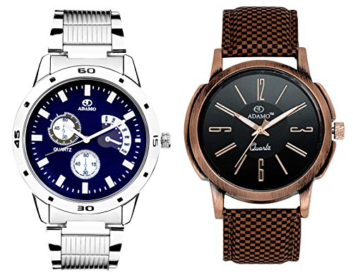 ADAMO Men's Designer Watch Combo 108-41KL02
