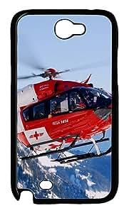 Rega Air Rescue Custom iSamsung Galaxy Note II N7100 Case Cover ¨C Polycarbonate ¨CBlack