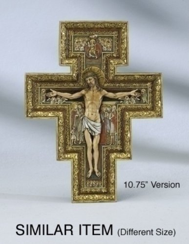 - Renaissance Collection Joseph's Studio by Roman Exclusive San Damiano Cross, 17.75-Inch