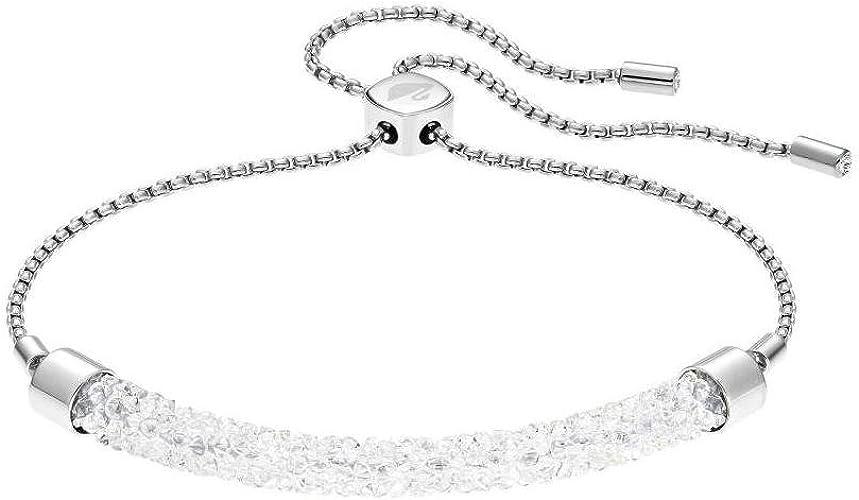 bracelet femme Swarovski Long Beach - Blanc - 5404441: Amazon.fr ...