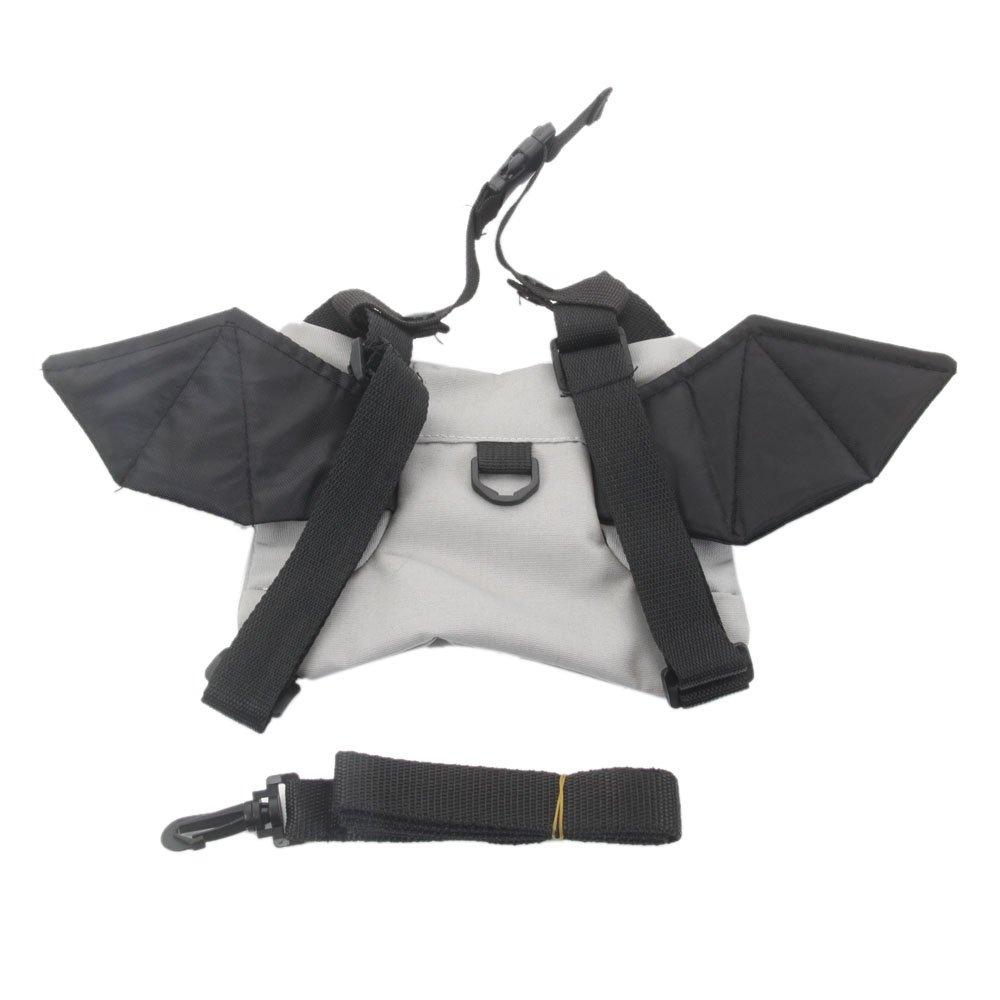 WISHAVE Baby Toddler Walker Safety Harness Backpack Bag (Bat)