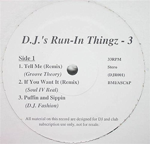 D.J.'s Run-In Thingz - 3