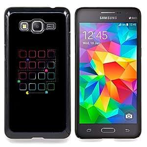 For Samsung Galaxy Grand Prime SM-G530F G530FZ G530Y G530H G530FZ/DS , Juego retro viejo 80 del hombre de la vendimia - Diseño Patrón Teléfono Caso Cubierta Case Bumper Duro Protección Case Cover Funda