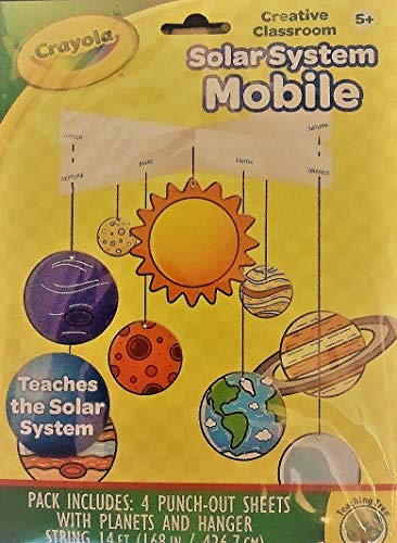 Crayola Solar System Mobile