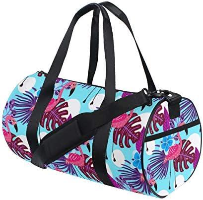 ボストンバッグ 夏の熱帯 フラミンゴ ジムバッグ ガーメントバッグ メンズ 大容量 防水 バッグ ビジネス コンパクト スーツバッグ ダッフルバッグ 出張 旅行 キャリーオンバッグ 2WAY 男女兼用