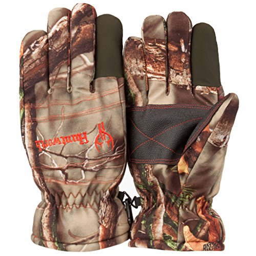 Huntworth Men's Ultimate Hunting Gloves, Camouflage, Large
