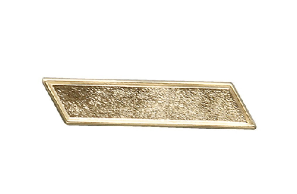 Pack of 100 Gold Bar Lapel Pins