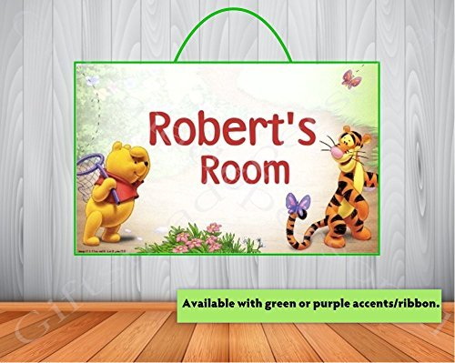 ef4f0102c5b2 Amazon.com  Personalized Winnie the Pooh Sign