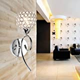LightInTheBox Crystal Wall Light 1 Light Creative Iron Painting Wall Sconces Wall Light Lamp