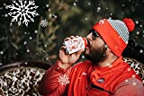 Funny Christmas Santa Beer Can Cooler Stocking