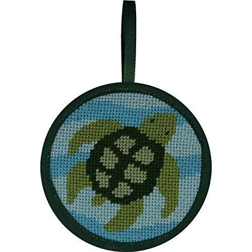 Alice Peterson Stitch-Ups Needlepoint Ornament Kit Turtle