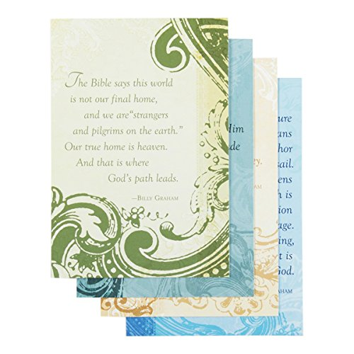Billy Graham -Sympathy Inspirational Boxed Cards