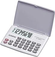 Calculadora Ultra Portátil Horizontal 8 Dígitos, Casio, LC-160LV-WE, Branca