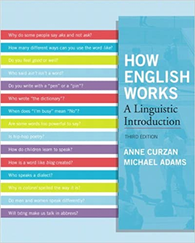 How English Works A Linguistic Introduction Pdf