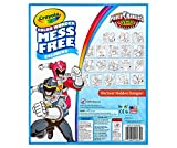 Crayola Color Wonder Refill Coloring Book - Power Rangers