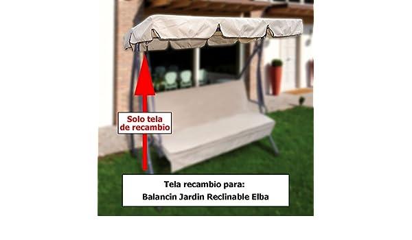 PAPILLON 8043348 Tela Techo Recambio Balancin Elba: Amazon.es: Jardín