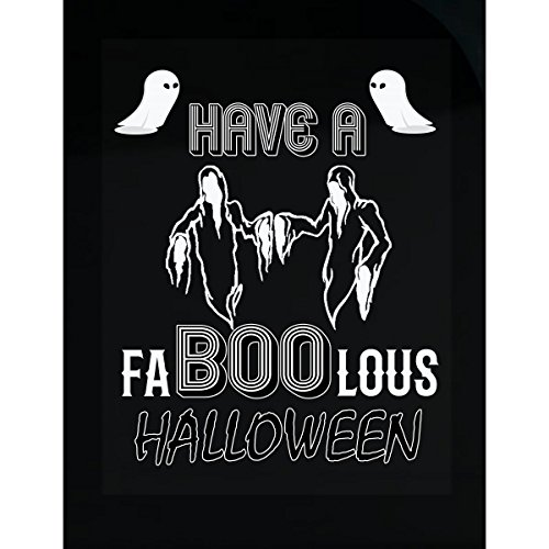 Have A Faboolous Halloween Awesome Gift For Halloween 2017 - Sticker