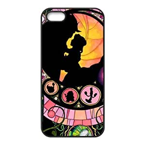 Hipster Beauty and Beast Super Fit iPhone 4/4s Case Pattern Design Solid Rubber Customized Cover Case for iPhone 4 4s 4s-linda982
